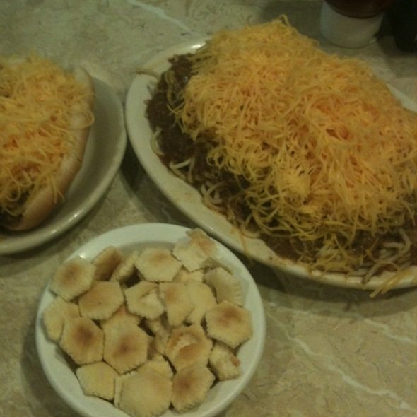 3-Way And Coney @ Skyline Chili