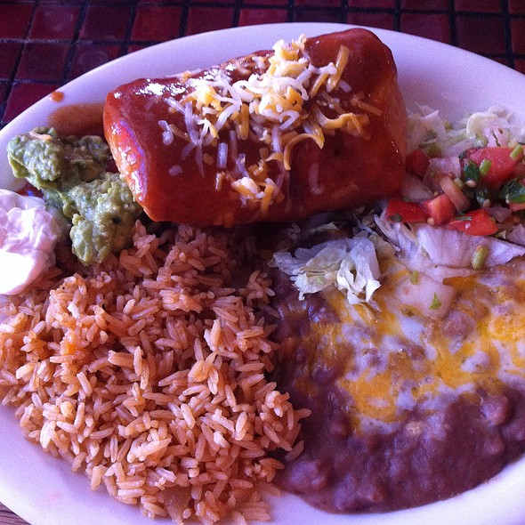 Chimichanga Plate Lunch Special