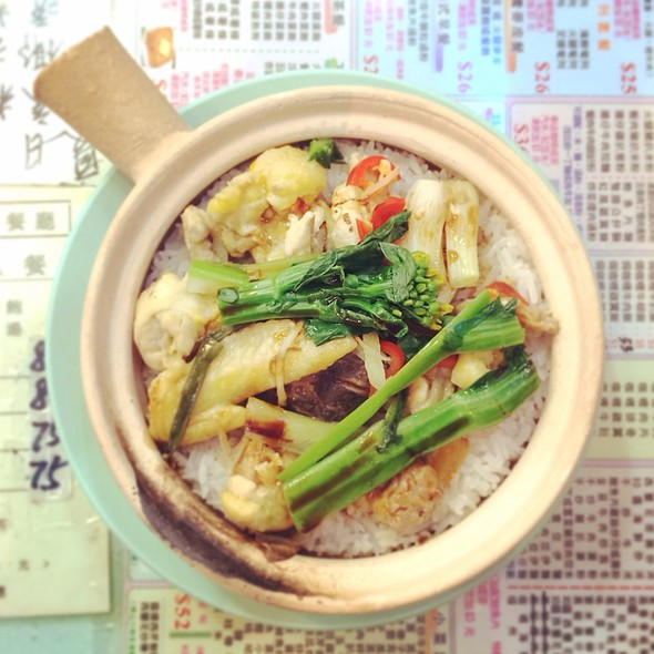 clay pot rice @ 德豐粉麵餐廳