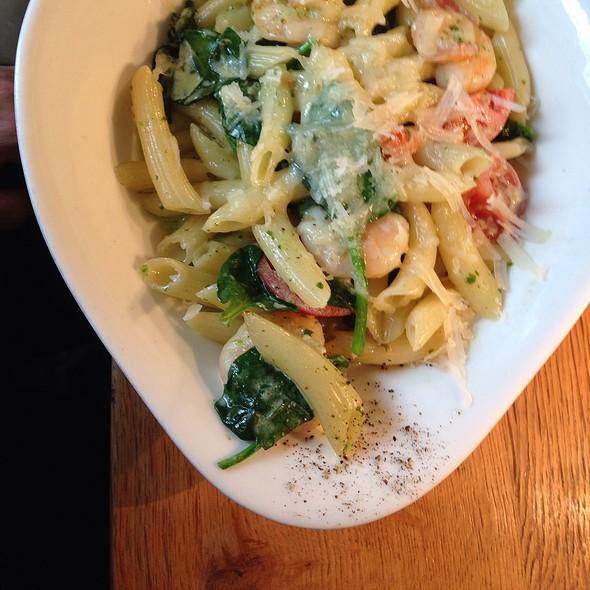 Shrimp Scampi with Penne pasta  @ Vapiano