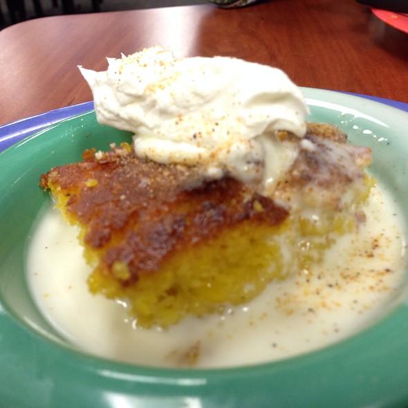 Sweet Corn Pudding White Chocolate Cajun Seasoning