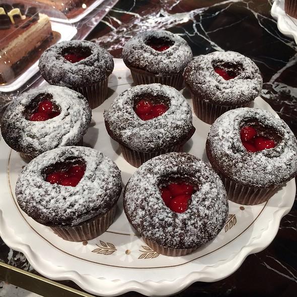 Chocolate Cherry Cupcakes @ wegmans