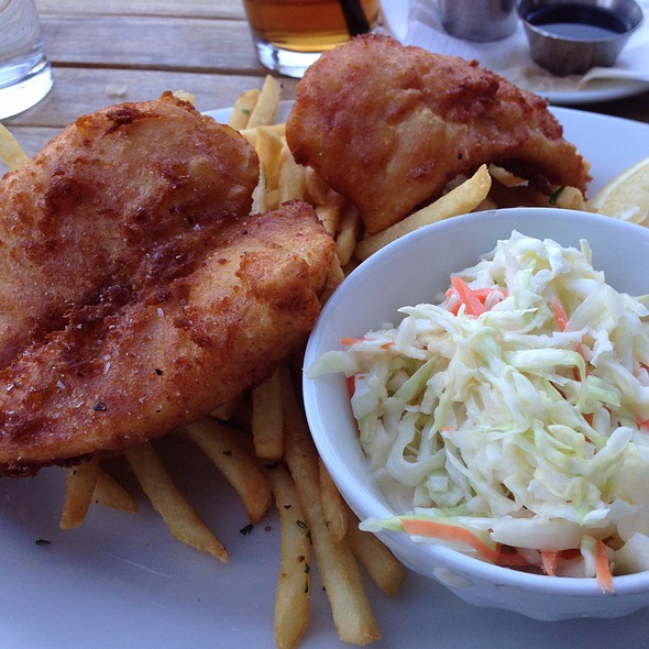 Fish and Chips - The Pear Southern Bistro, Napa, CA