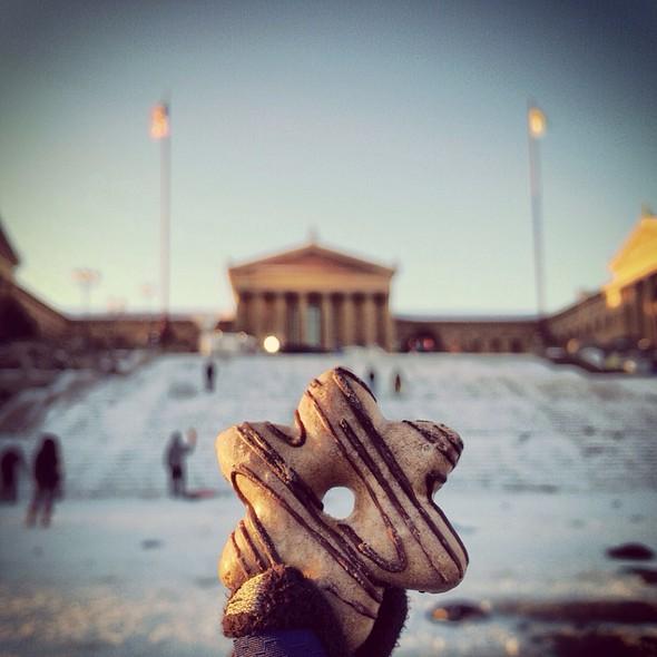 Gingerbread Cookie @ Philadelphia Museum of Art