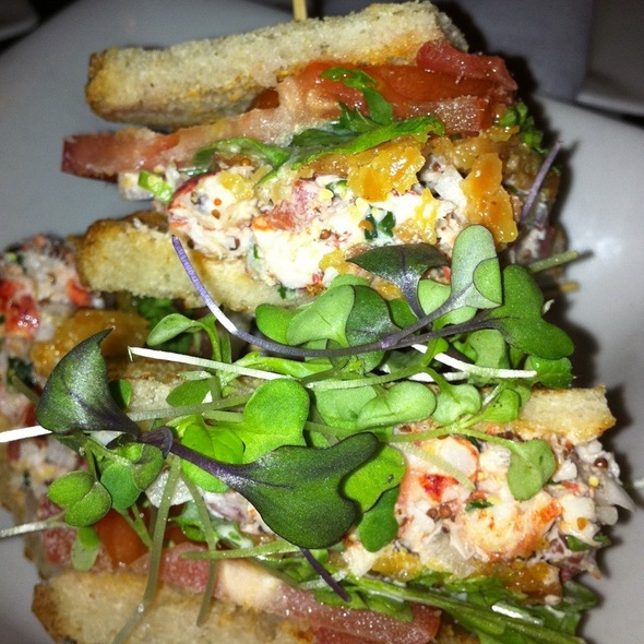 Lobster club sandwich - The House in Gramercy Park, New York, NY