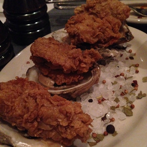Grilled Oysters @ Liberty Kitchen & Oyster Bar