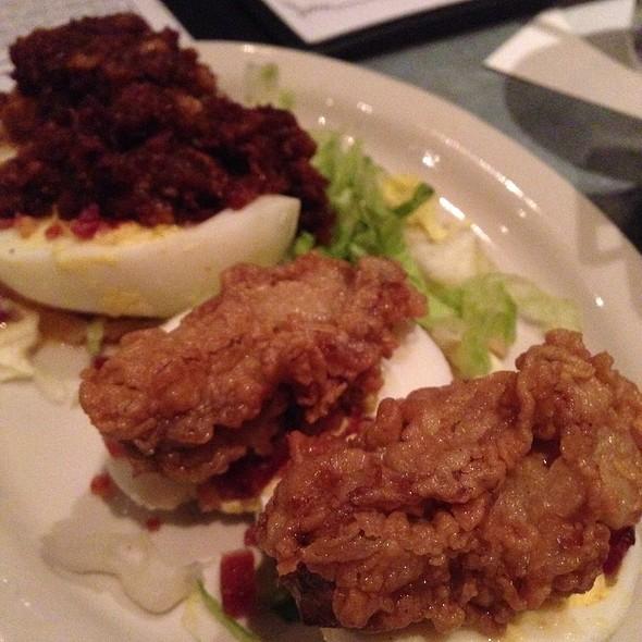 Deviled Eggs @ Liberty Kitchen & Oyster Bar