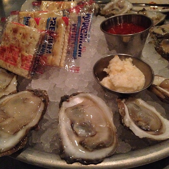 raw oysters @ Liberty Kitchen & Oyster Bar