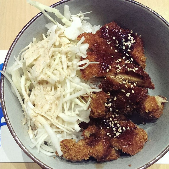 Chicken Katsudon @ Donburi