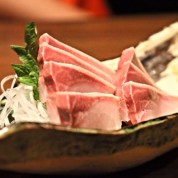 Hamachi Yellow Tail @ Izakaya Gazen