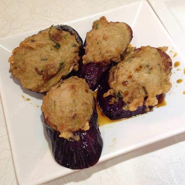 Aubergine With Minced Fish