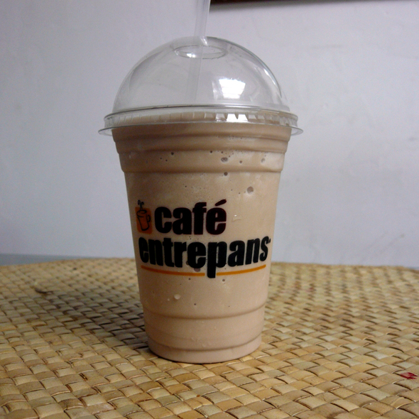 Blended Chai Tea Latte @ Cafe Entrepans