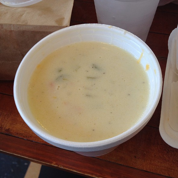 Beer Cheese Soup @ Blues City Deli