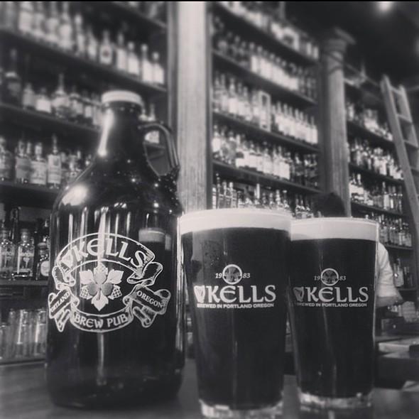 Kells Stout - Kells Irish Restaurant & Bar, Seattle, WA