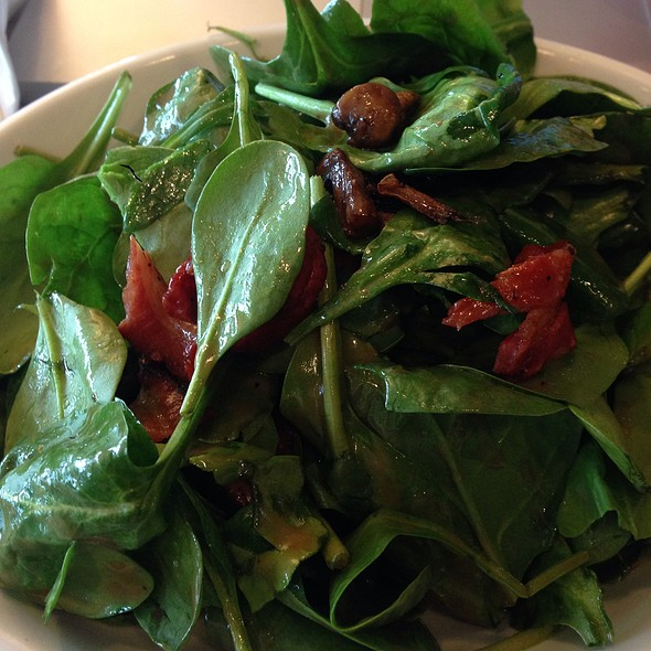 Spinach Pancetta And Mushroom Salad  @ Sogni Di Dolce
