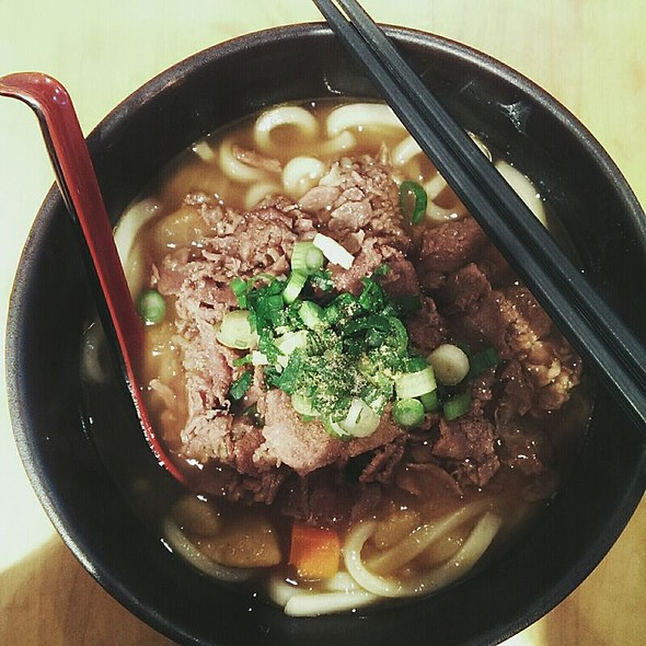 Curry Beef Udon @ Manpuku Japanese Eatery