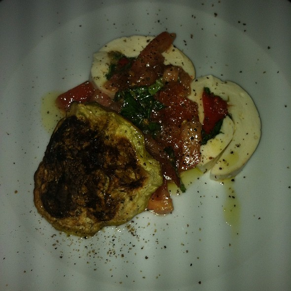 Stuffed Mozzarella With  Roasted Red Peppers And Eggplant - La Masseria RI, East Greenwich, RI