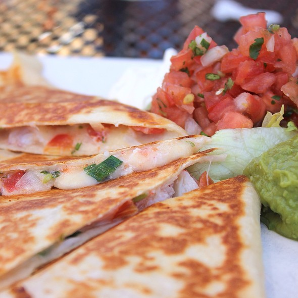 Fajita Quesadilla - Joe's American Bar and Grill - Waterfront, Boston, MA