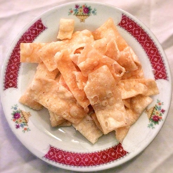 Fried Wontons @ Cho Cho San