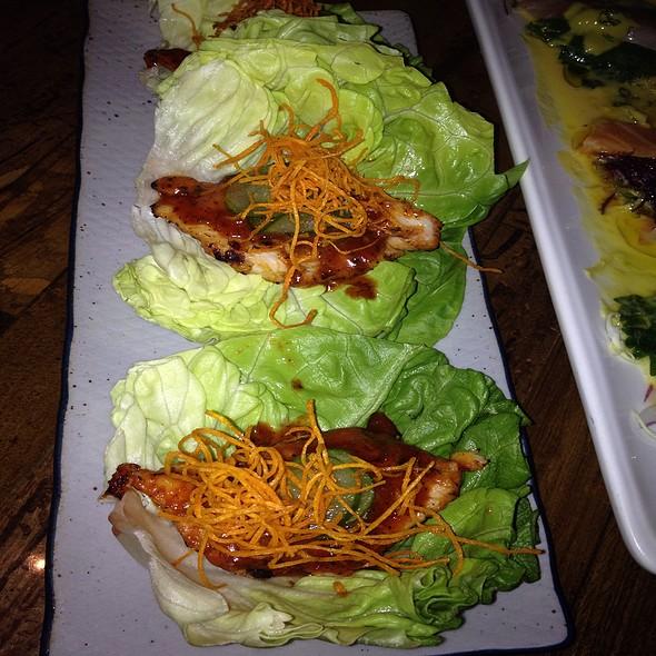 Paiche Amazonian Fish Wrapped In Lettuce @ Paiche