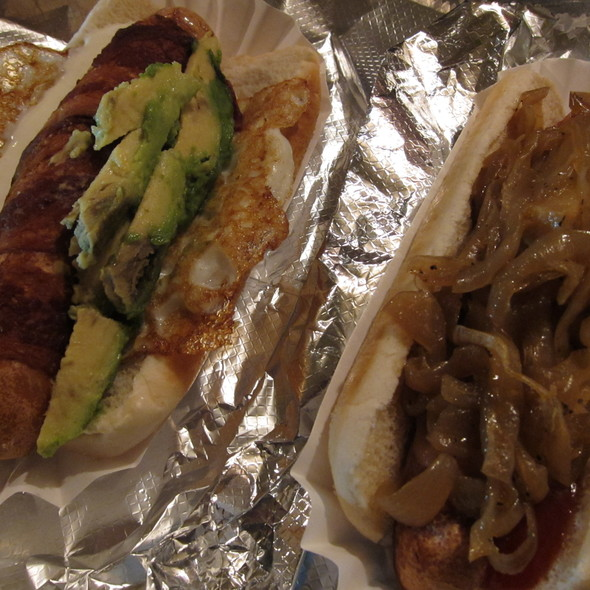 Hot Dogs @ Crif Dogs Ent Inc