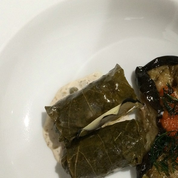 Dolmas With Eggplant Confit @ I Forgot It's Wednesday
