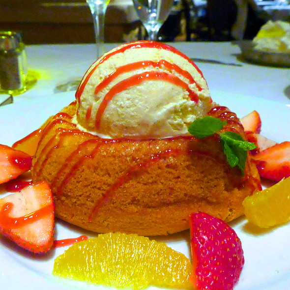 Mastro's Signature Warm Butter Cake - Mastro's Ocean Club - Scottsdale, Scottsdale, AZ