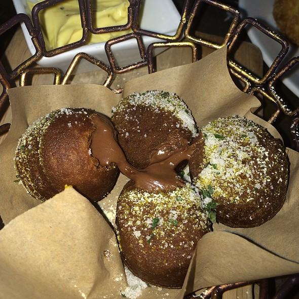 Chocolate Nutella Zeppole