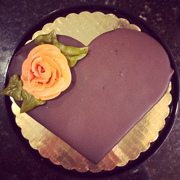 Valentine's Day Chocolate Cake @ Whole Foods Market - Callowhill