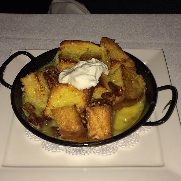 Bread Pudding At Alfa Bar Dining Room