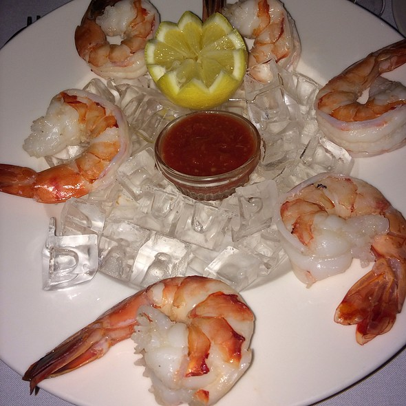 Shrimp Cocktail At Alfa Bar Dining Room