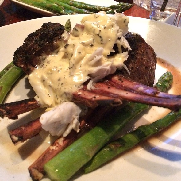Lamb Chop Oscar Style - Sullivan's Steakhouse - Lincolnshire, Lincolnshire, IL