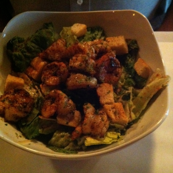Grilled Shrimp Caesar Salad @ Phares' Restaurant