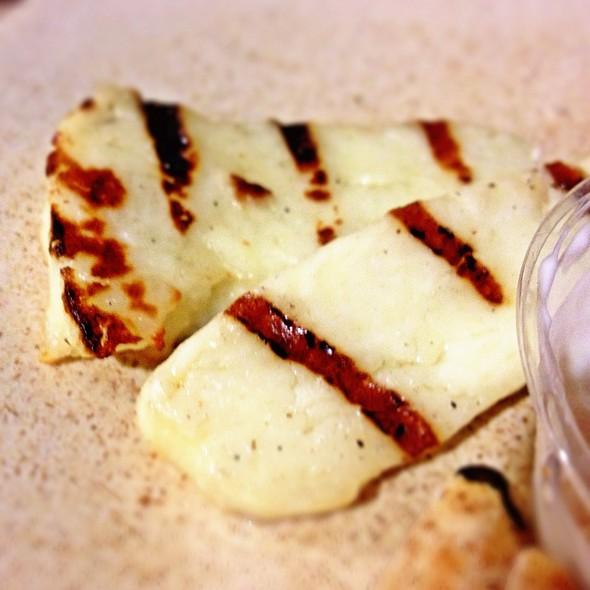 Grilled Halloumi @ Cafe Phipps