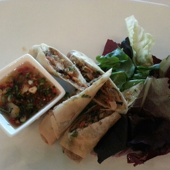 Duck Spring Rolls @ Silo Elevated Cuisine
