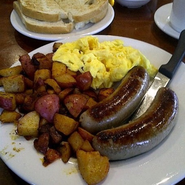 Scottish Bangers & Eggs @ Buttercup Grill and Bar