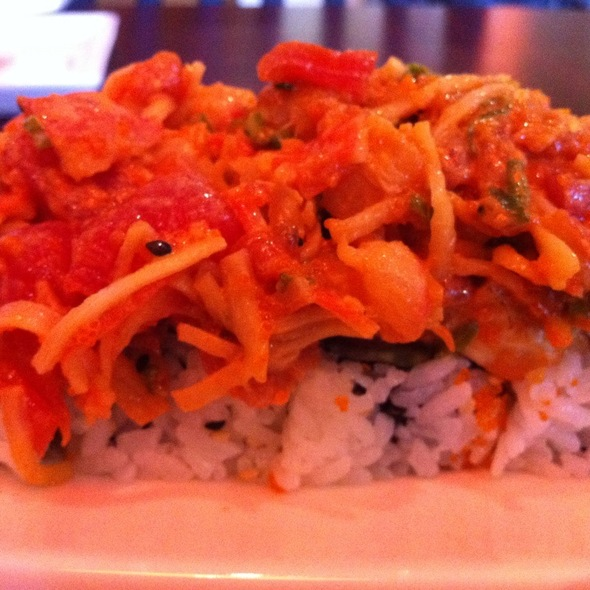 Dirty Old Man Roll @ Sushi Lola's