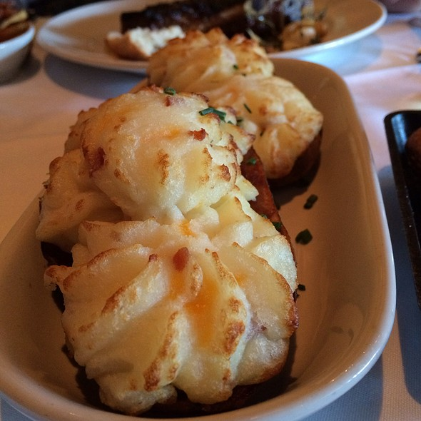 Twice Baked Loaded Potatoes - Little Alley Steak, Roswell, GA