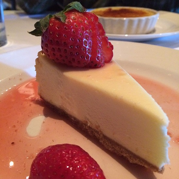 Meyer Lemon Cheesecake - Little Alley Steak, Roswell, GA