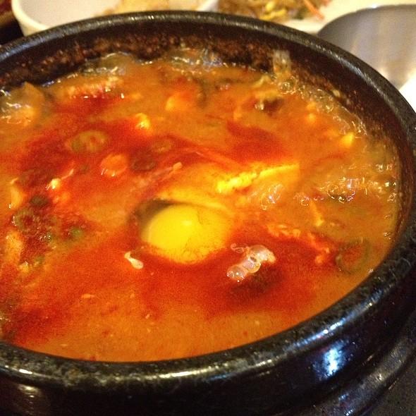 Pork Kimchi Tofu Soup