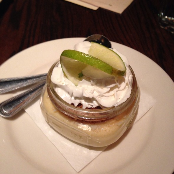 Key Lime Pie @ The Lucky Monk