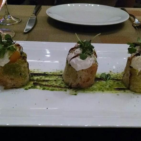 Heirloom Tomato And Mozzarella Calabrese Salad @ Julian Serrano (Aria)