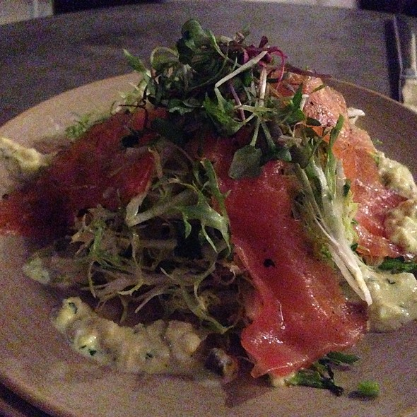 Salmon @ Workshop Kitchen + Bar