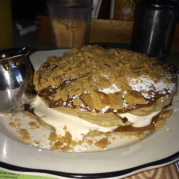 S'mores Pancakes  @ Honey's Sit N Eat
