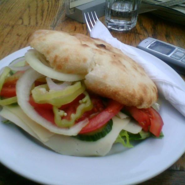 Dietalen sendvich @ Plaza De Toros