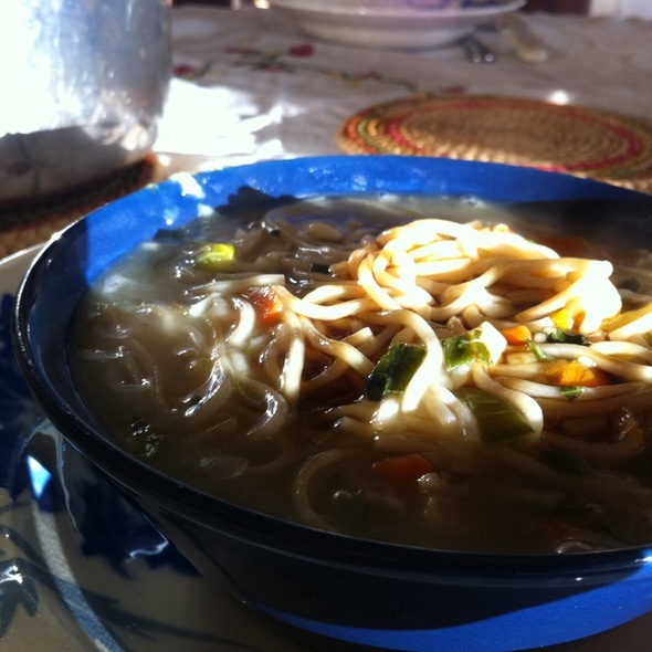 Chicken Noodle Soup @ Home