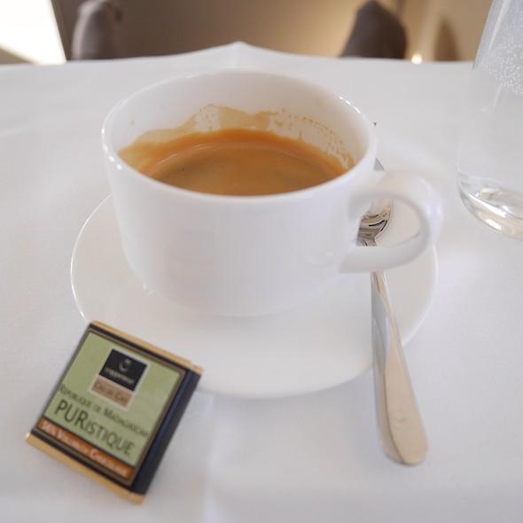 Espresso @ LH418 FRA-IAD
