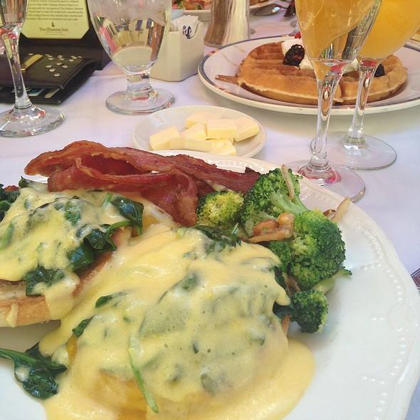 Eggs Benedict - Mission Inn Restaurant, Riverside, CA