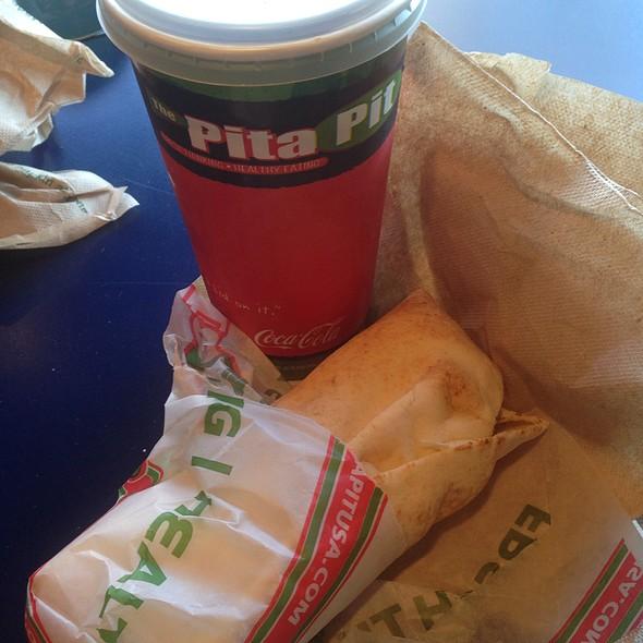 Hummus Pita @ The Pita Pit
