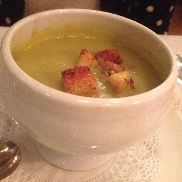 Split Pea Soup - Wally's Desert Turtle, Rancho Mirage, CA